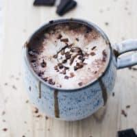 Creamy Oat Milk Hot Chocolate