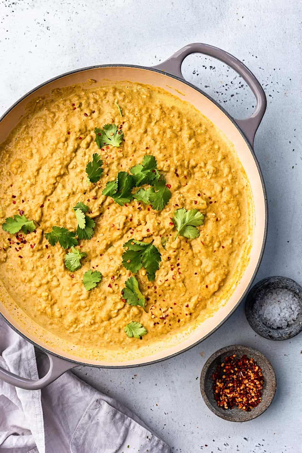 Turmeric Red Lentil Dhal #lentil #dhal #recipe #vegan #indianfood