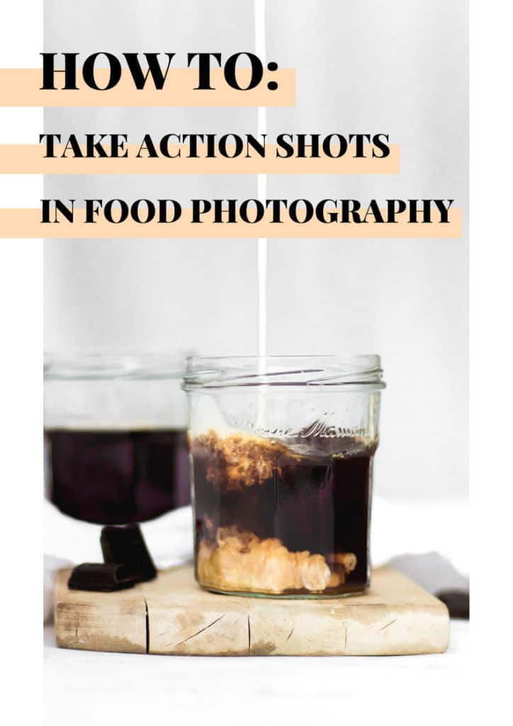 how to take action shots in food photography guide #foodphotography