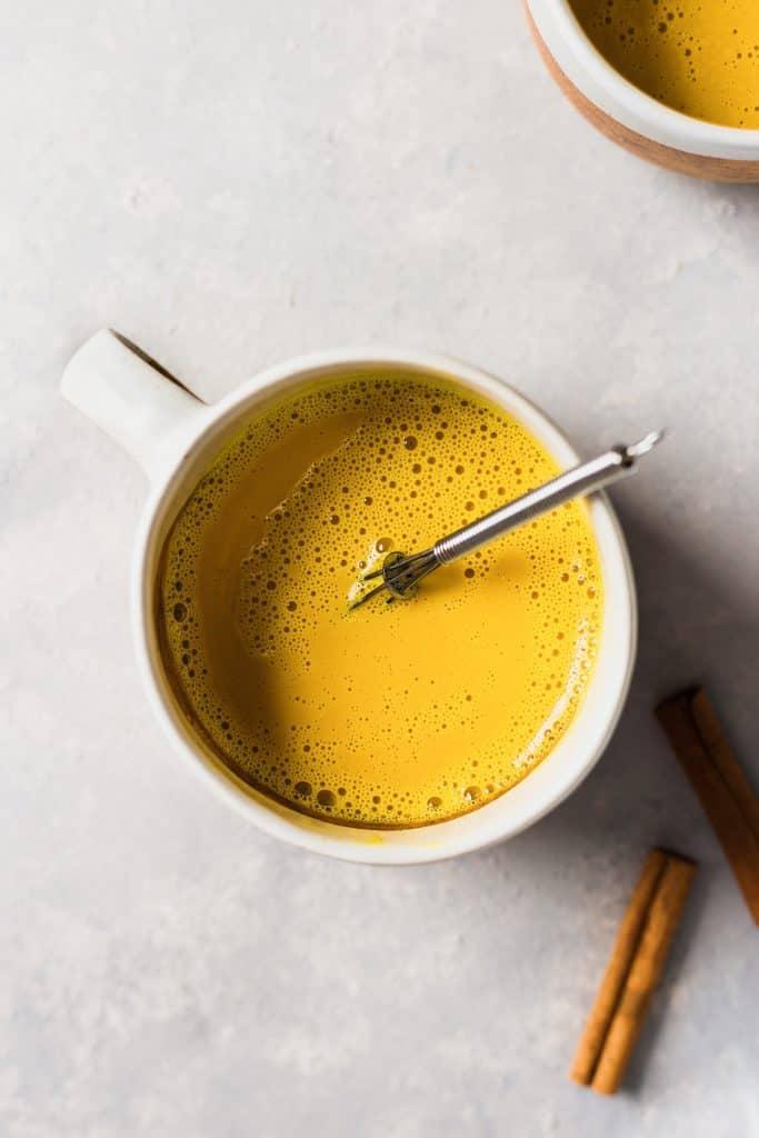 Turmeric Golden Milk #goldenmilk #turmeric