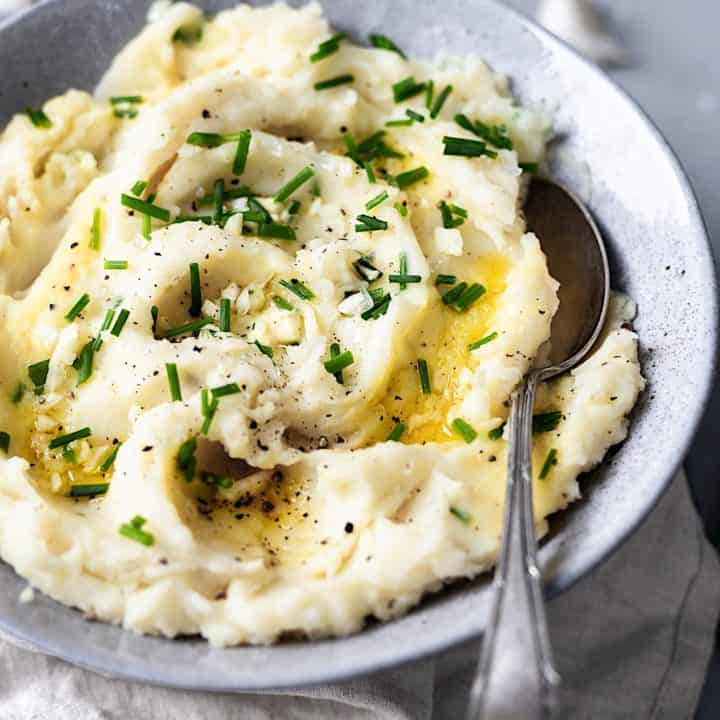 Vegan Garlic Mashed Potato