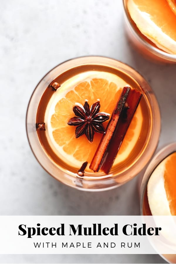 Spiced Mulled Cider #mulledcider #christmasdrink