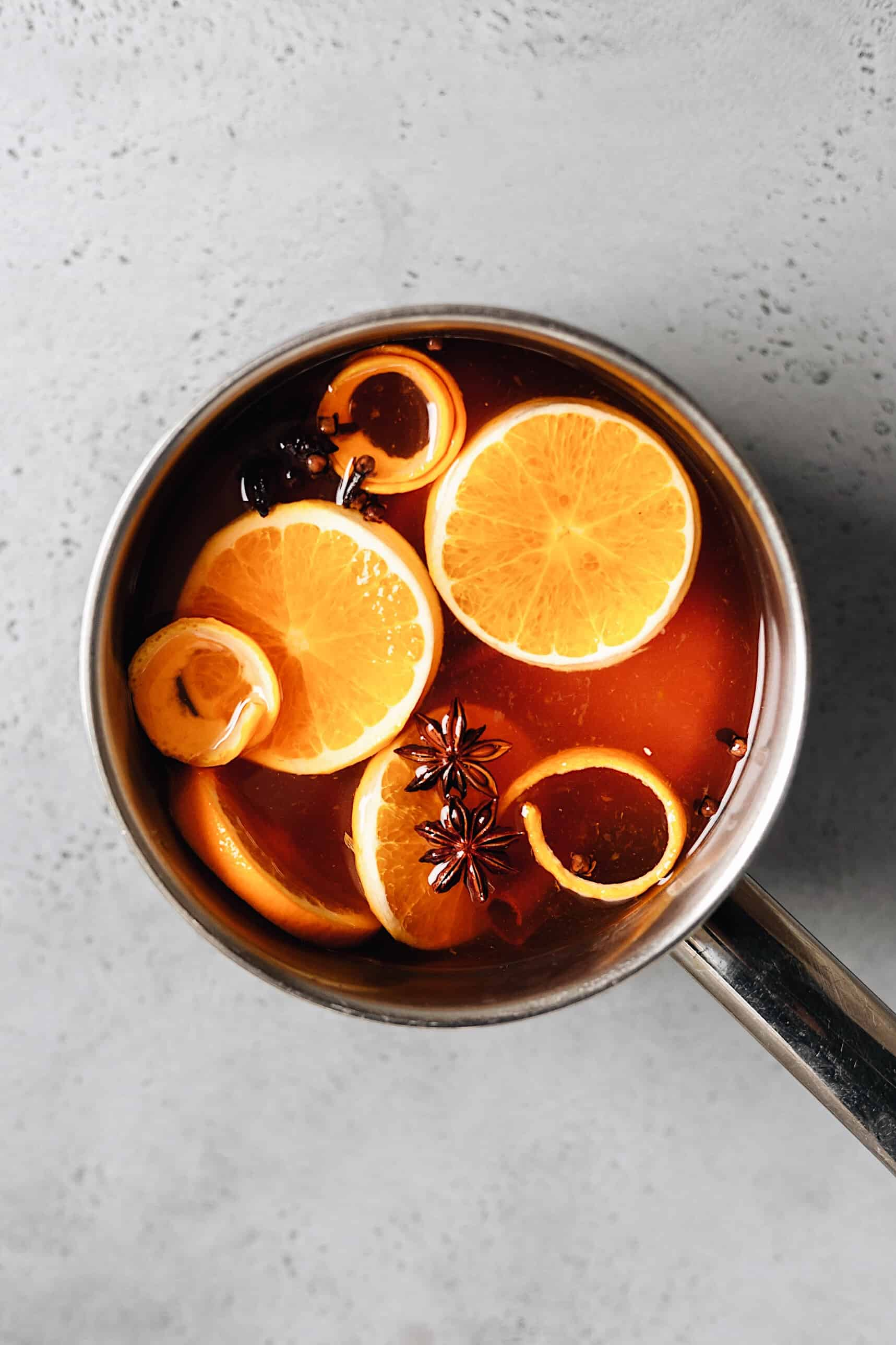 Maple Spiced Mulled Cider