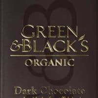 Green & Black's Organic 70% Dark Chocolate Bar, 100g (Pack of 5)