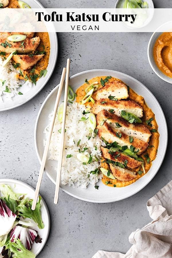 Vegan Tofu Katsu Curry #vegan #recipe #curry #katsu