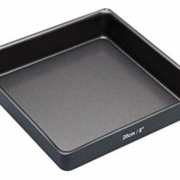 "MasterClass Non-Stick Square Sandwich Tin with Loose Base, 20 cm (8"")"