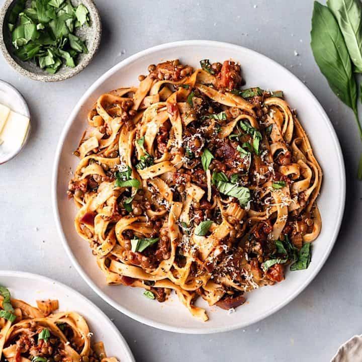 Tagliatelle Puy Lentil Ragu Cupful Of Kale Recipes