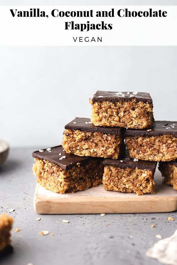 Vegan Coconut and Chocolate Flapjacks