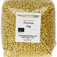 Buy Whole Foods Online Organic Pine Nuts 1 Kg