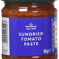 Morrisons Sundried Tomato Paste, 185 g, Pack of 6