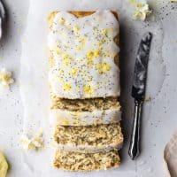 Lemon Poppy Seed Drizzle Cake