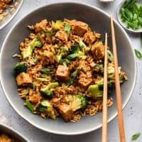 Tempeh Fried Rice