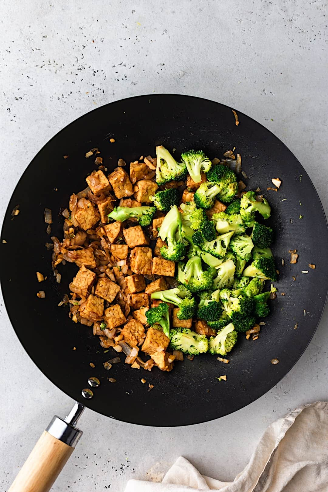 Vegan Tempeh and Broccoli Fried Rice