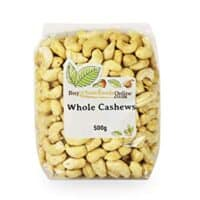 Buy Whole Foods Online Cashew Nuts Whole 500 g