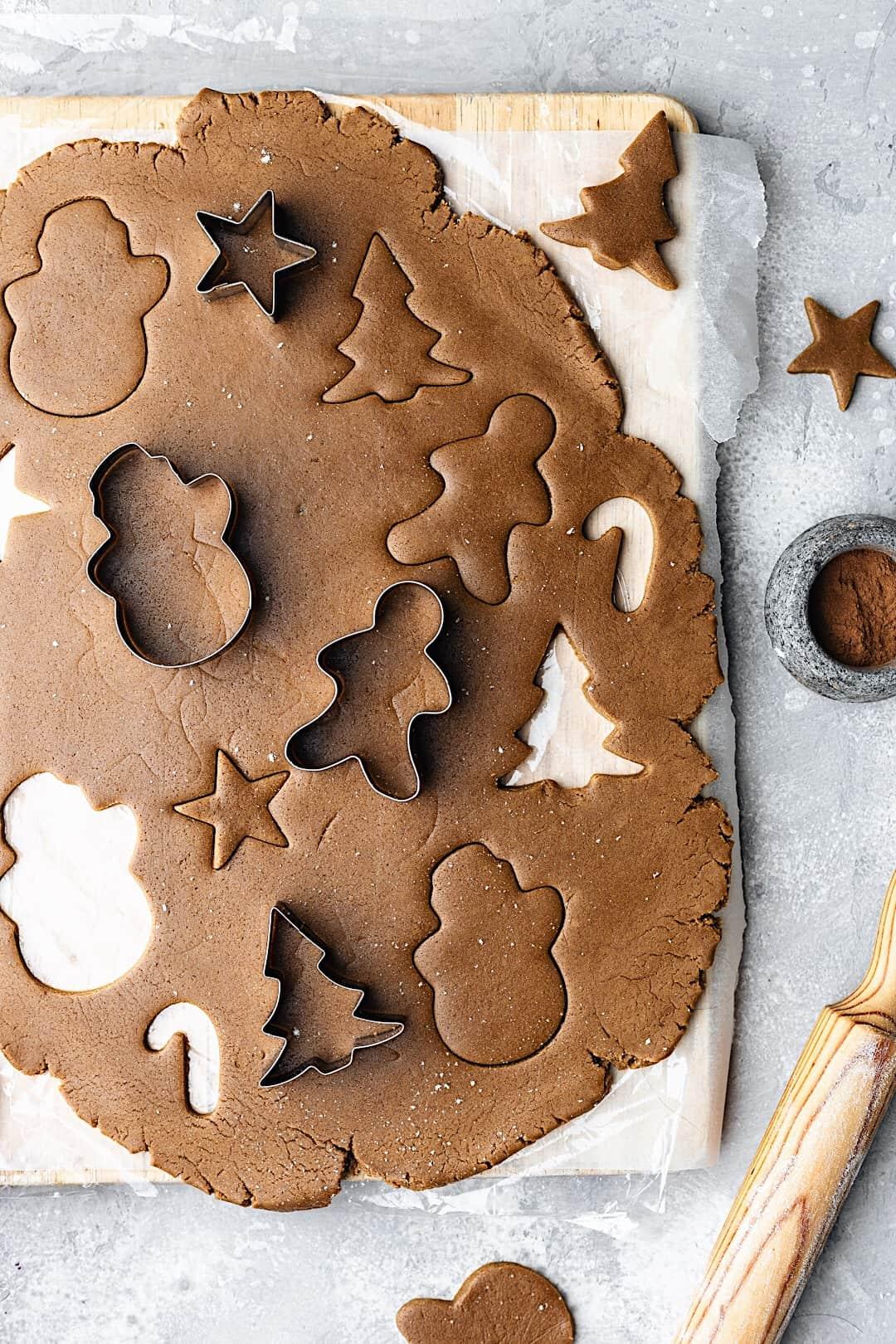 Easy Vegan Gingerbread Cookie Dough