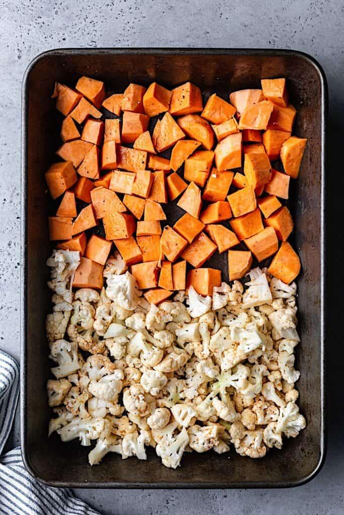 Thai Sweet Potato and Cauliflower