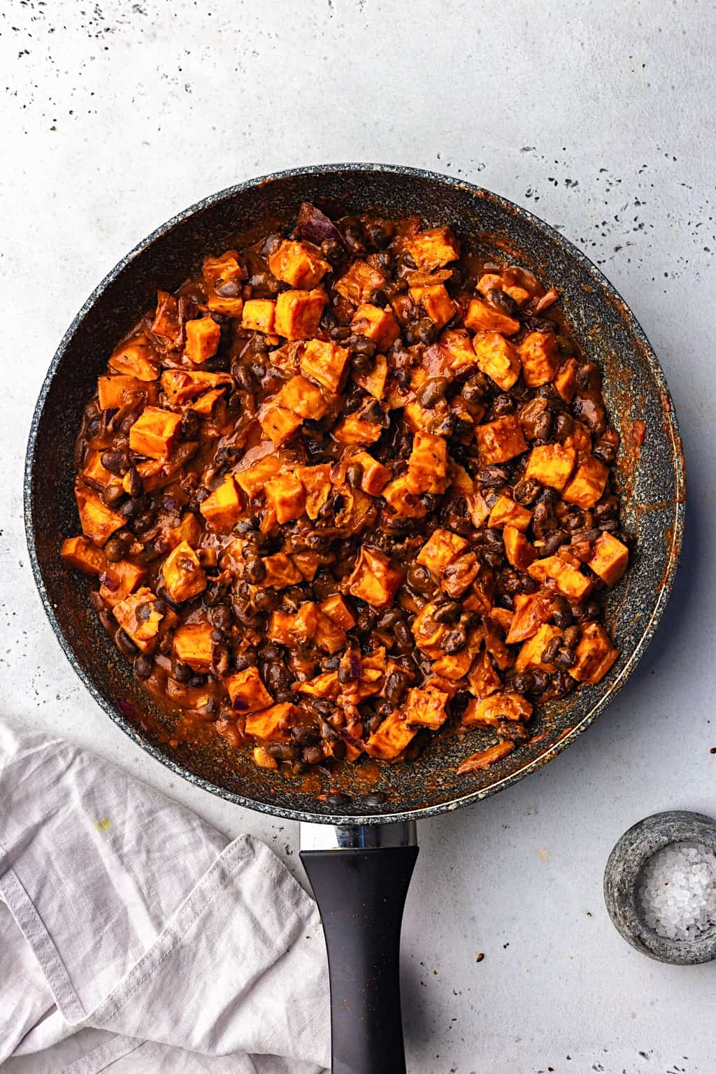 Black Bean and Sweet Potato Enchilada Filling