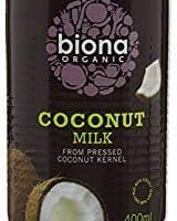 Biona Organic Coconut Milk, 400 ml, Pack of 6