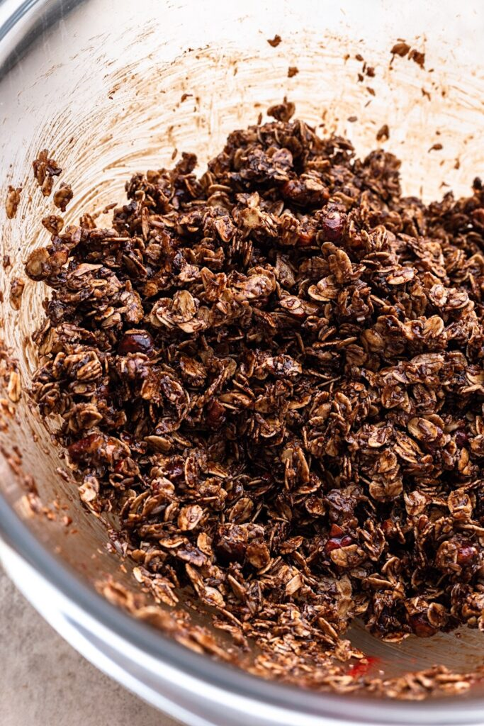 Vegan Chocolate Chip Granola Mixture
