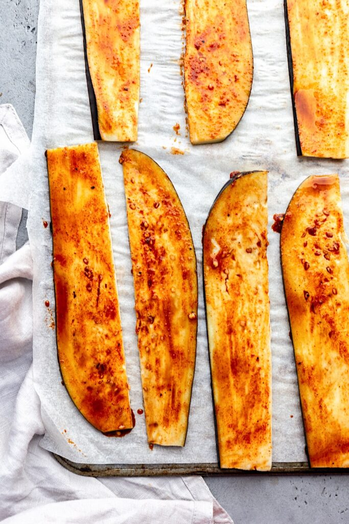 Vegan Eggplant Bacon