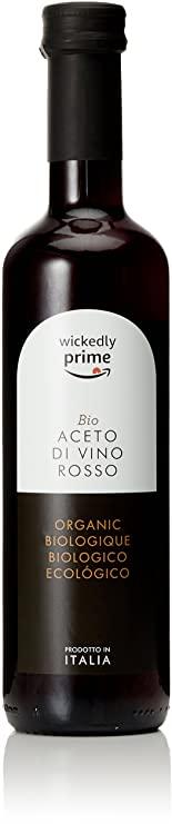 Amazon Brand - Wickedly Prime Organic Red Wine Vinegar