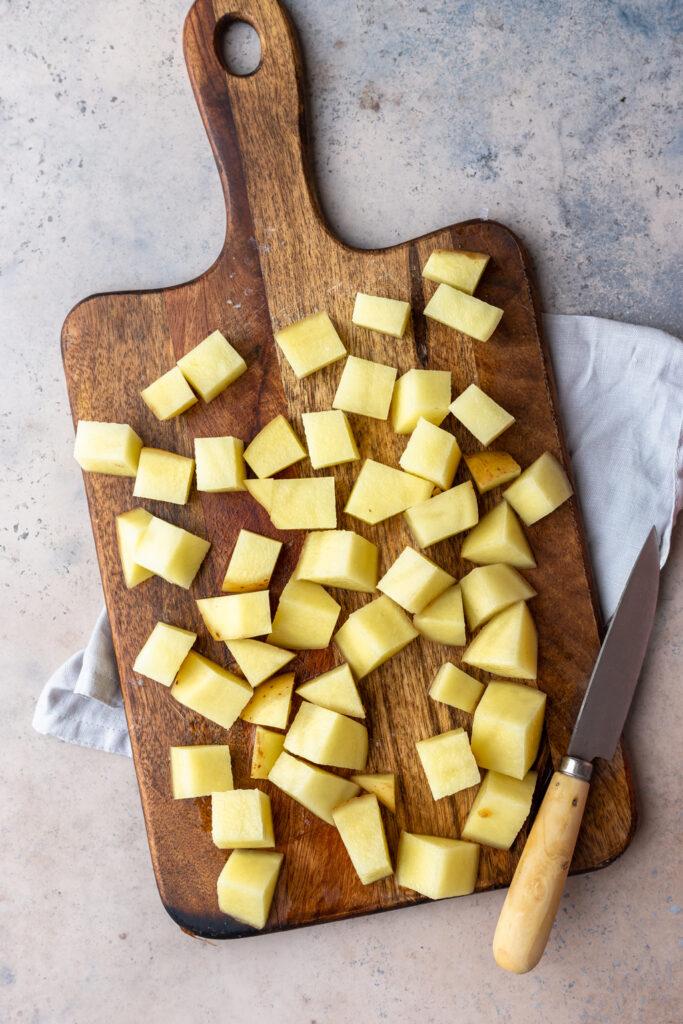 Diced Potatoes