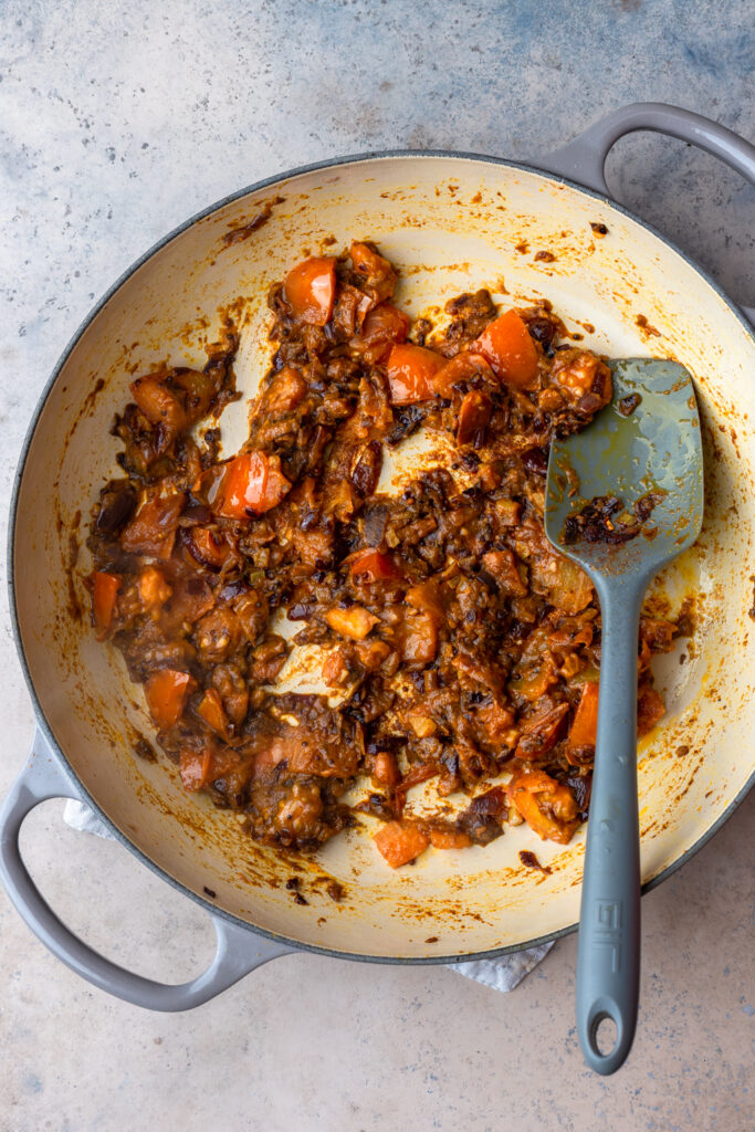 Vegan Potato and Chickpea Bombay Curry Paste